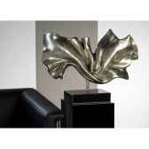 sculpture silk polystone brun noir casablanca design 59495