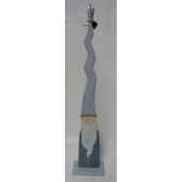 tete de buddha poly antique argent casablanca design 59502