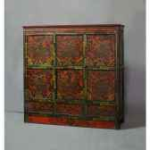 sculpture handstand brun brillant casablanca design 59640