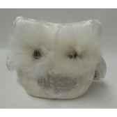 colonne en bois argent gris 100 cm casablanca design 71043