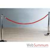 corde rouge 200 cm casablanca design 90788