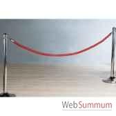 corde rouge 200 cm casablanca design 90788
