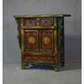 ornement pomme de pin l22 rouge 105281
