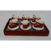 ornement etoile l25 rouge 105290