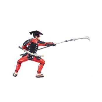 Figurine le samouraï lance -65702