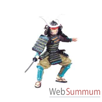 Figurine le samouraï au sabre -65704