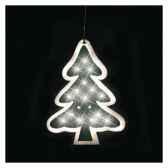 arbre l34h45 argent led blanc chaud20371413