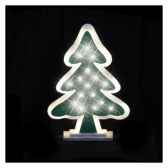 arbre l34h45 argent led blanc chaud20371414