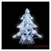 arbre cristal23h295 led blanc24371483