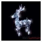 renne cristal20l83h34 led blanc20371484