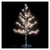 arbre h90 argent led blanc chaud120371722