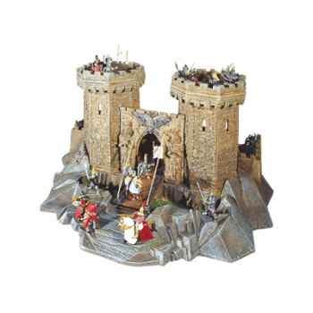 Figurine le château fort les chevaliers -59000