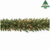 guirlande led forest frpine l270d33 vert 96tips 210 387086