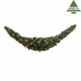 guirlande led swag plus epaise au milieuforest frpine l180d36 vert 96tips 230 387088