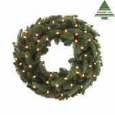couronne led abies nordmann d60vert 72tips 208 387093