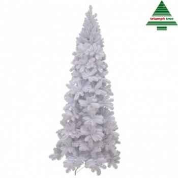 Sapin de noel slim icelandic pine iridesc. h185d84 blanc tips 645 -NF -390256