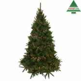 sapin de noeled promo bristlecone fir h215d127 vert 700tips 916 nf 390377