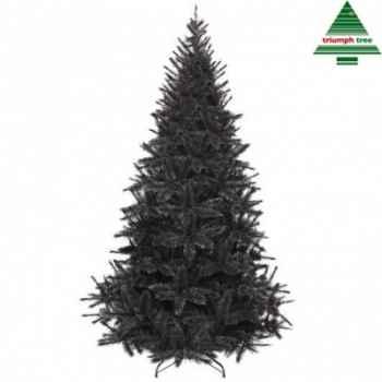 Arbre d.noel bristlecone fir h155d99 noir tips 438 -399315