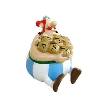 Figurine tirelire Obelix -80002