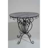table metaavec dessus bois kaemingk 380163