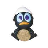 figurine tirelire calimero 80006