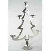 arbre aluminium pour 4 bougies nickekaemingk 391578