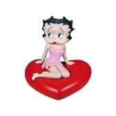 figurine tirelire betty boop robe rose 80007