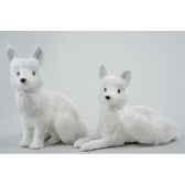renard coton avec paillettes kaemingk 455516