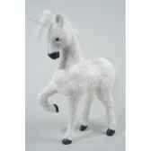 licorne coton avec paillettes avec corne acrylique kaemingk 455535