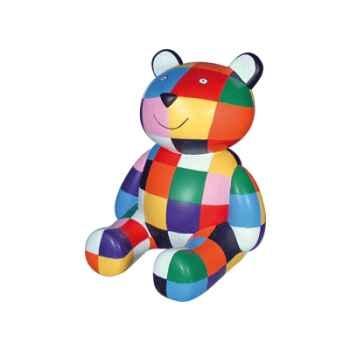 Figurine tirelire le nounours d'Elmer -80009