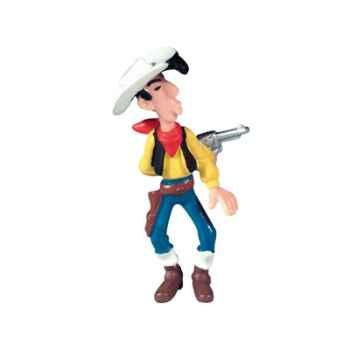 Figurine Lucky Luke tirant de dos -63102