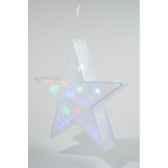 led etoile holograme pvc kaemingk 481149