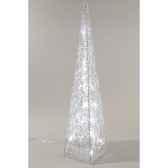 pyramide acrylique led kaemingk 491954