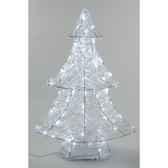 sapin acrylique led 60 cm everlands nf 491975