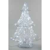 sapin acrylique led 90 cm everlands nf 491976