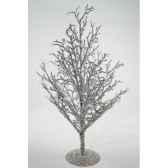 arbre givre 125 cm avec paillettes kaemingk 522081