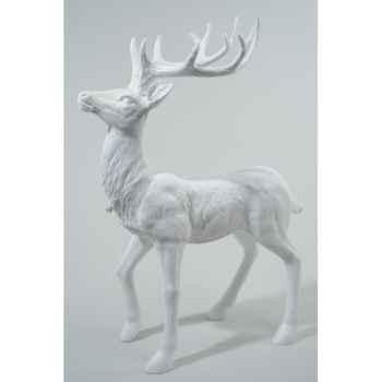 Renne polystyrene debout paillettes avec diamant Kaemingk -533853