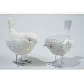 oiseau polystyrene avec pattes kaemingk 533909
