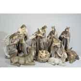 creche en polystyrene 11 santons kaemingk 596378