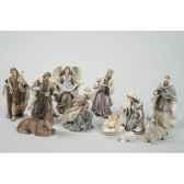 creche en polystyrene 11 santons kaemingk 596380