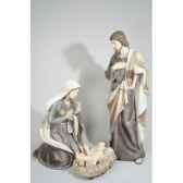 creche en polystyrene 3 figurines kaemingk 596385