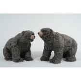 ours grizzly en peluche assis marchant kaemingk 611274
