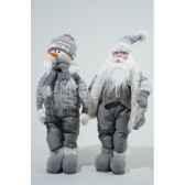 figurine coton debout bonhomme de neige pere noekaemingk 611837