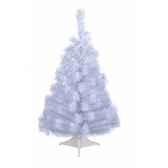 mini sapin blanc 90 cm everlands nf 682563