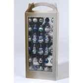 sapin mini avec decoration 24 boules et 6 figurines everlands nf 683375