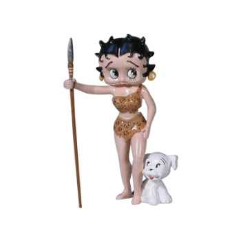 Figurine Betty Boop robe jungle -61907