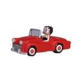 figurine betty boop en voiture 61930