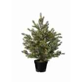 mini sapin taxus finition ge45 cm everlands nf 685076