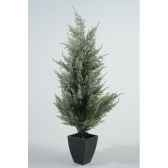 sapin conifere neige table 20 cm everlands nf 685105