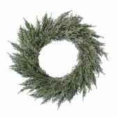 couronne conifere enneigee 50 cm kaemingk 685115